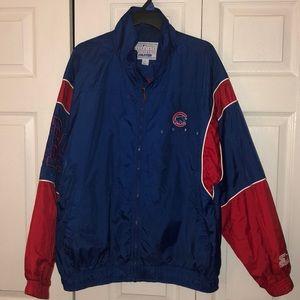 """Vintage Starter Men""""s Chicago Cubs Nylon Jacket L"""